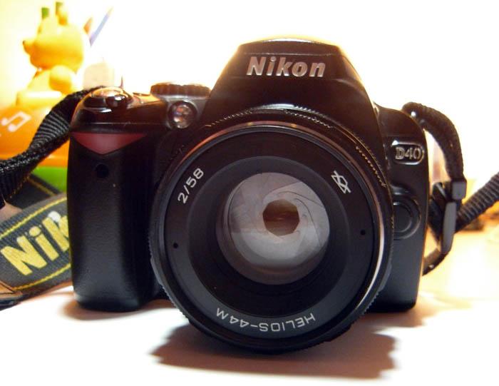 [78] Гелиос-44м на Nikon, бесконечность | Статьи о фото